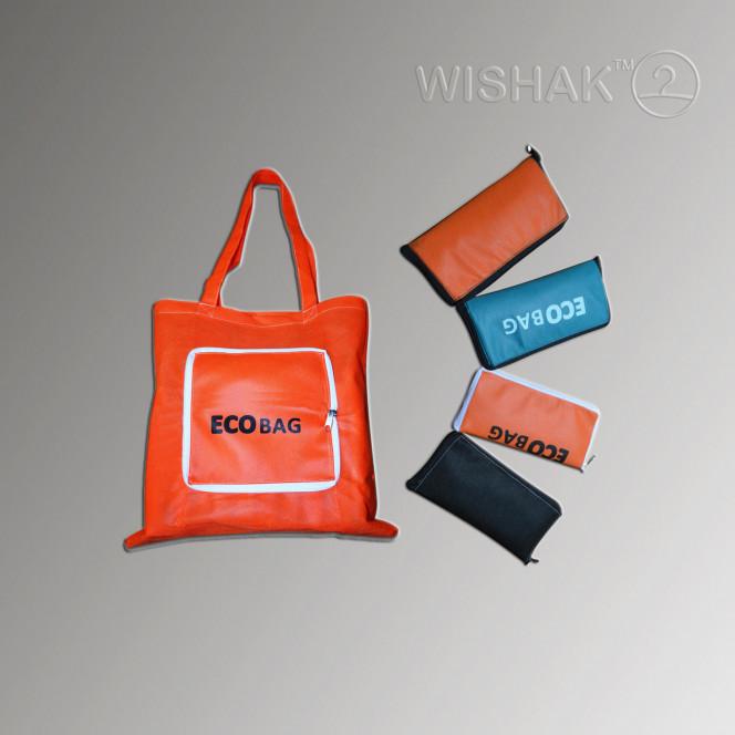 Продукция. Складная сумка из спанбонда ECObag №1 (ECObag №1)