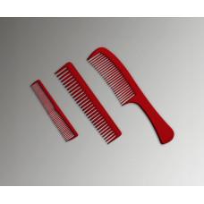 Набор пластиковых расчёсок KG3