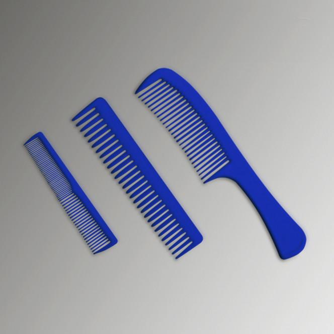 Продукція. Набір пластикових гребінців KG3 (Модель: KG3)